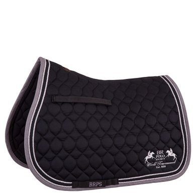BR Polo Society Zadeldek Rosario Veelzijdigheid Black Full