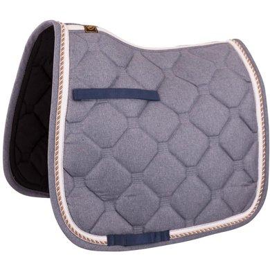 BR Satteldecke Dressur Sublime mit Airflow Rückennaht Blau