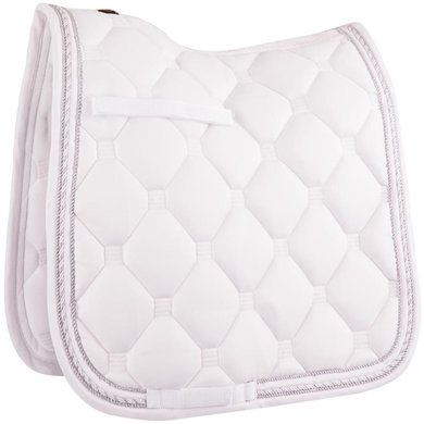 BR Saddlepad Dressage Sublime with an Airflow Back Seam White