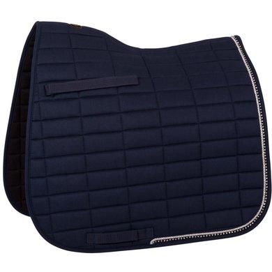 BR Zadeldek Glamour Chic Dressuur Blauw Full