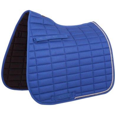 BR Zadeldek Glamour Chic Dressuur Kobaltblauw Full