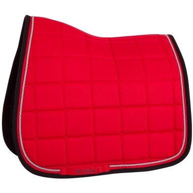 BR Saddlepad Dressage Xcellence Strawberry Cob