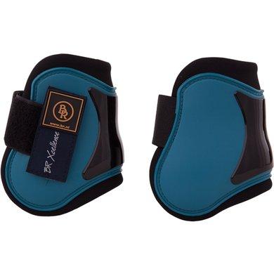 BR Fetlock Boots Xcellence Mosaic blue Pony