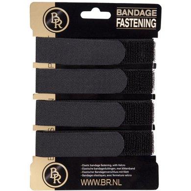 BR Bandagesluitingen 4st Zwart