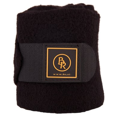 BR Bandages/polo Event Fleece 2m Zwart Pony