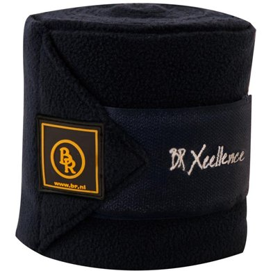 BR Bandages Xcellence 3.5mm Fleece 380gr Black Cob