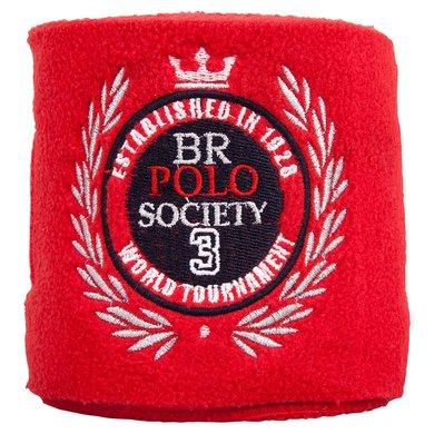 BR Polo Society Fleece Bandages Portada Haute Red