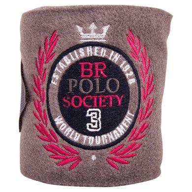 BR Polo Society Fleece Bandages Portada Grey Melange