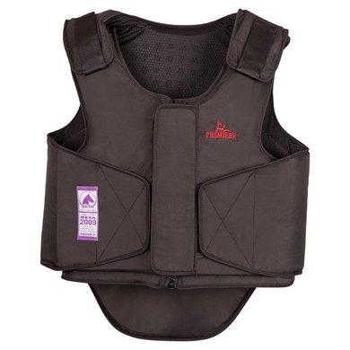 Premiere Body Protector Volw Rits EN-13158:2009L3 Zwart