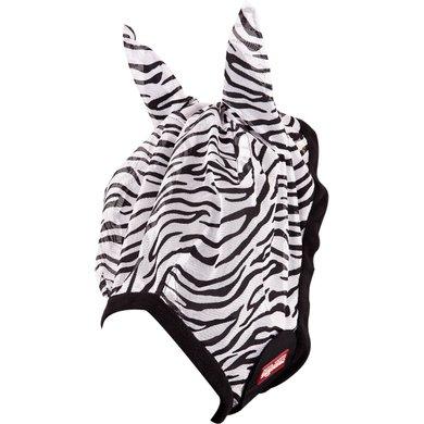 Premiere Masque Anti-Mouches Oreilles Imprimé Animal Zebra A5015 Full