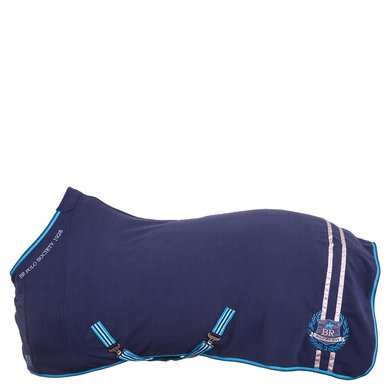 BR Polo Society Fleece Deken Puerta Medieval Navy 195 cm