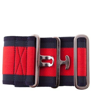 Premiere elastischer Deckengurt Blau/Rot