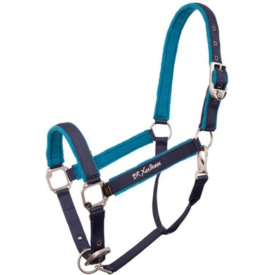 BR Head Collar Xcellence Covered in Marine Blue Full