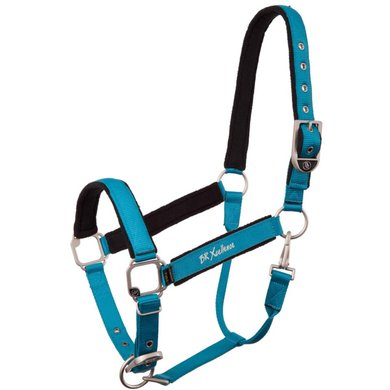 BR Head Collar Xcellence Covered in Mosaic blue Pony