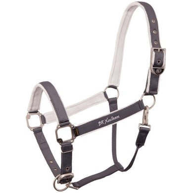 BR Head Collar Xcellence Covered in White/Stone Full