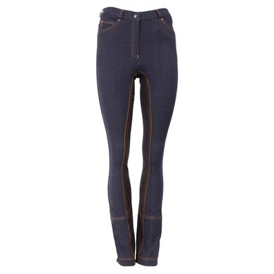 Premiere Jodhpursbroek Chicory Dames Brown Denim