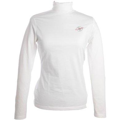 BR Pulli Essentials Dames Optical White