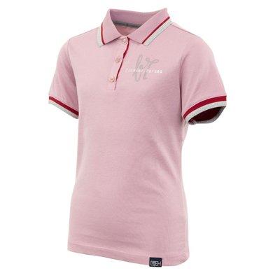 BR Poloshirt Octiana 4-EH Korte Mouw Kind Mauve Mist 152