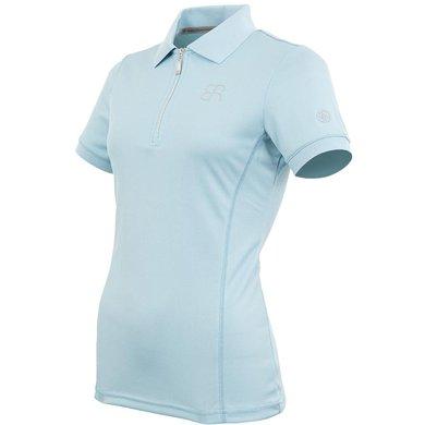 BR Poloshirt Ramona Korte Mouwen Aquamarine M