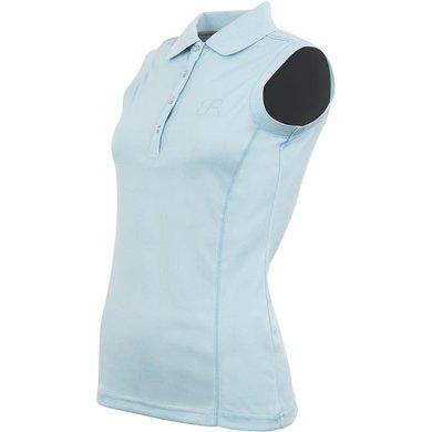 BR Poloshirt Rosanne Mouwloos Aquamarine L