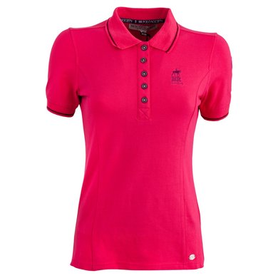 BR Polo Society Poloshirt Paloma Dames Bright Rose XL