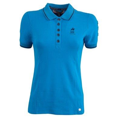 BR Polo Society Poloshirt Paloma Dames Vivid Blue XL