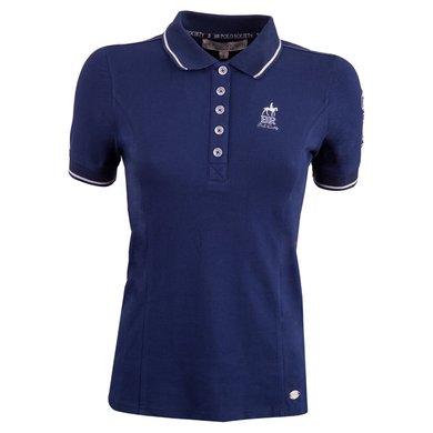 BR Polo Society Poloshirt Paloma Dames Medieval Navy XXS