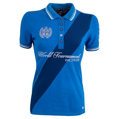BR Polo Society Poloshirt Martina Dames Directoire Blue XL