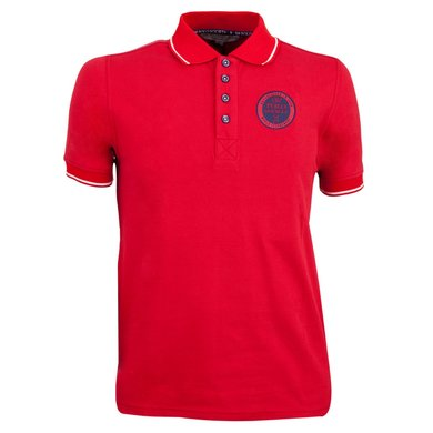 BR Polo Society Poloshirt Juan Heren Haute Red M