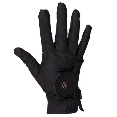 BR Rijhandschoen All Weather Pro Leather Feel Zwart