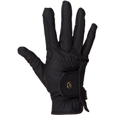 BR Gants d'Équitation All Weather Pro Leather Feel Noir