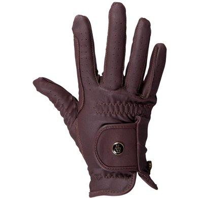 BR Gants d'Équitation All Weather Pro Leather Feel Marron