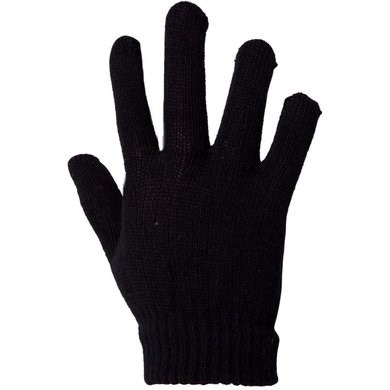 Premiere Riding Gloves Elastic Black
