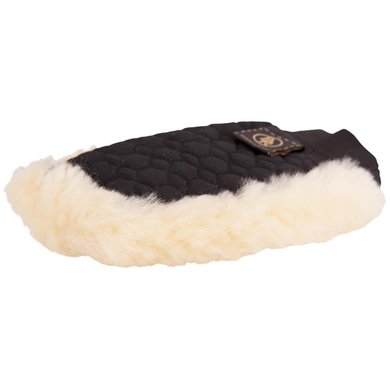 BR Grooming Glove One-sided Sheepskin Naturel