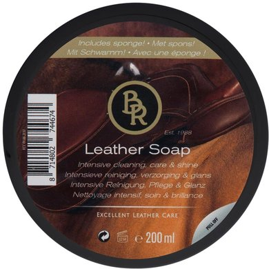 BR Leather Soap met Spons 200ml