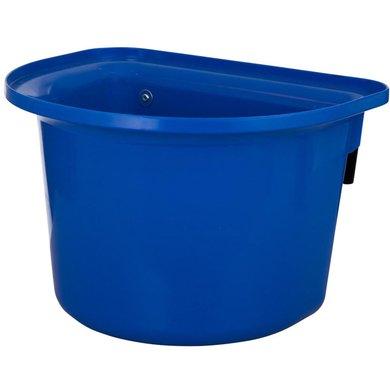 Stubbs Voerbak Plastic Halfrond met Beugels Blauw 15L