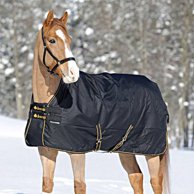 Bucas Irish Turnout Light Highneck Schwarz/Gold 135/183