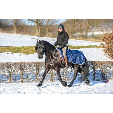 Bucas Freedom Riding Rug Navy