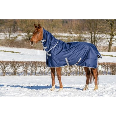 Bucas Freedom Turnout Full Neck 150g Navy
