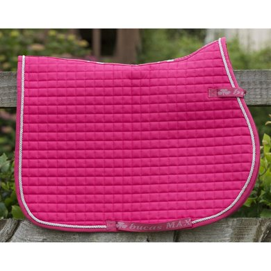 Bucas Max Saddle Pad Multi Cherry Pink