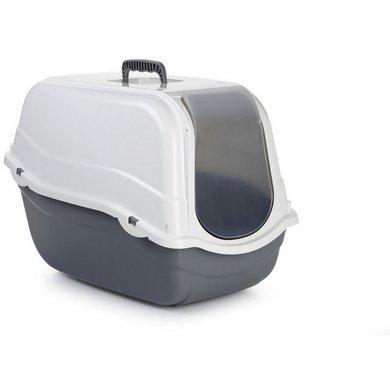 Beeztees Toilette Romeo Grau/Weiß 57x39x41cm