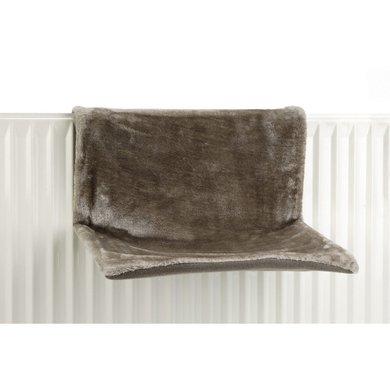 Beeztees Heizungshängematte Sleepy Grau 46x31x24cm