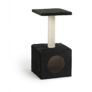 Beeztees kratzbaum christa schwarz 32x32x60cm for Versand von mobeln