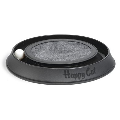 Beeztees Jouet Happy Cat Plastique antrhacite 41x38x5cm
