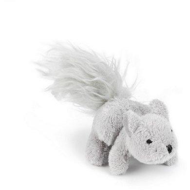 Beeztees Plüsch Eichhörnchen Dinky Grau 12cm