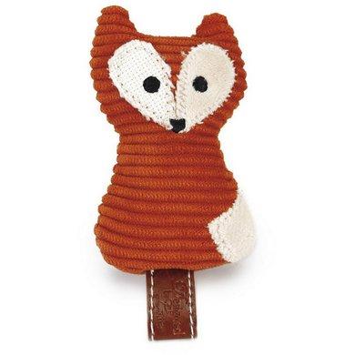 Designed by Lotte Jouet pour Chat Zerka Textile Orange 9cm
