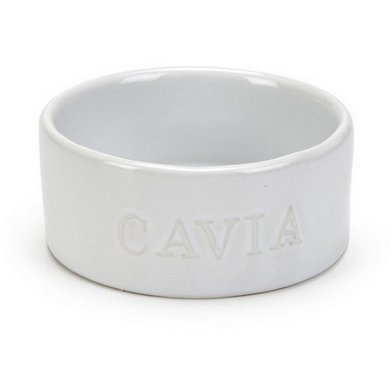 Beeztees Keramische Eetbak Cavia Wit Ø 10cm