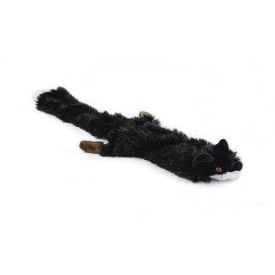 Flatino Pluche Vos Zwart 52cm