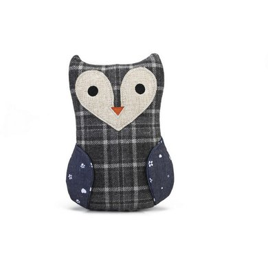 Designed by Lotte Owl Ully Textile Grey 23,5cm