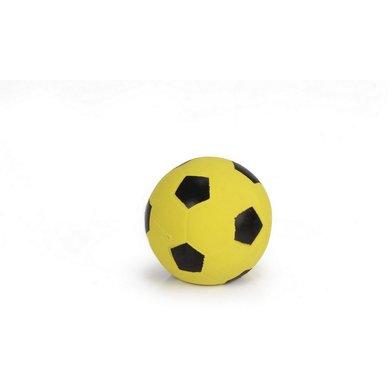 Beeztees Football Latex Black/Yellow 8cm
